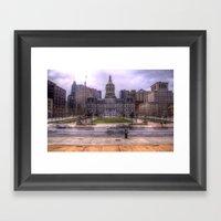 Baltimore City Hall Framed Art Print