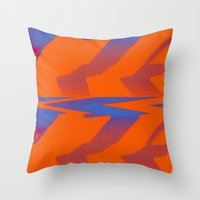 Digital Died/TigerPower Throw Pillow