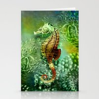 Seahorse Tropical Ocean … Stationery Cards