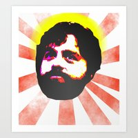 Zach Galifianakis Died F… Art Print