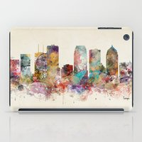 tampa florida skyline iPad Case