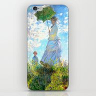 Woman With A Parasol - M… iPhone & iPod Skin