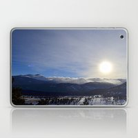 Rolling Clouds Over the Rockies Laptop & iPad Skin