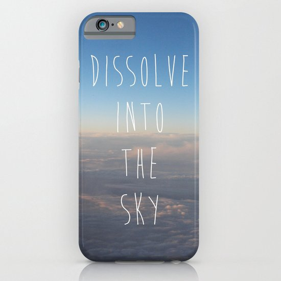 Dissolve into the Sky iPhone & iPod Case