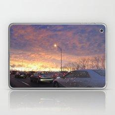 Sunset in Boston Laptop & iPad Skin