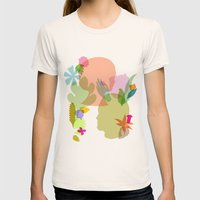 Botany Womens Fitted Tee Natural SMALL