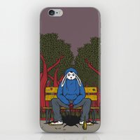 ALONE  IN THE PARK iPhone & iPod Skin