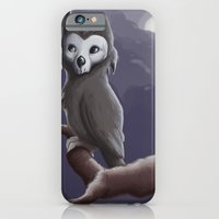 iPhone & iPod Case featuring Skull Owl  by YetiParade