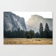 Yosemite Light  Canvas Print
