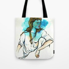 Aquarius (Zodiac Series) Tote Bag