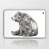 Laptop & iPad Skin featuring Bear // Graphite by Sandra Dieckmann