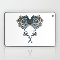Royal Blue Rose Laptop & iPad Skin