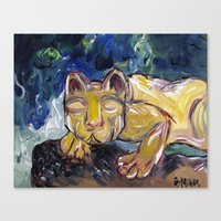 Nittany Lion Canvas Print