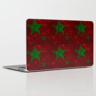 Christmas Red And Green … Laptop & iPad Skin