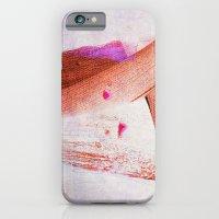 Brush Strokes Purple Ora… iPhone 6 Slim Case