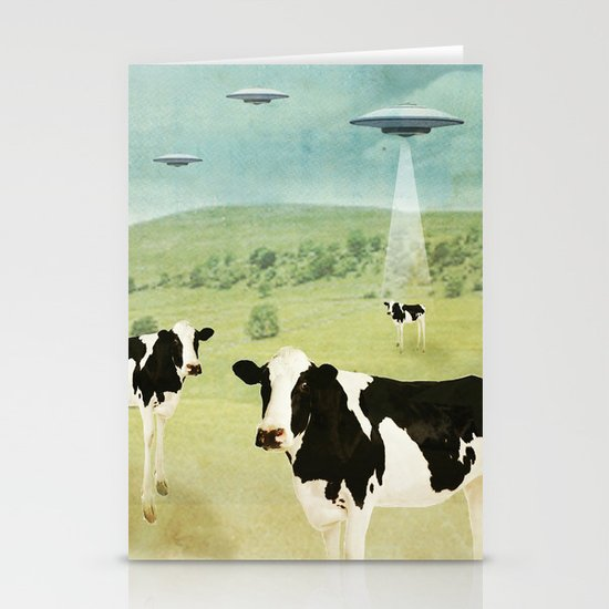 we all like burgers _ US AND THEM  Stationery Card