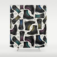 Rock'n'Shoes Shower Curtain