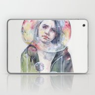 Laptop & iPad Skin featuring Goodmorning World by Agnes-cecile