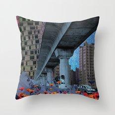 The Built Environment Throw Pillow