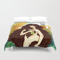 Beautiful Inside and Out Duvet Cover