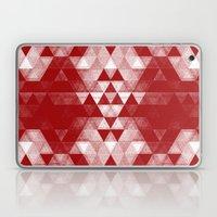 pattern red Laptop & iPad Skin