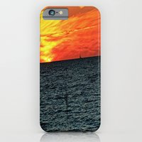iPhone & iPod Case featuring fire in the sky by manduhpaige