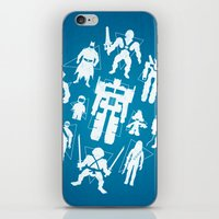 Plastic Heroes iPhone & iPod Skin