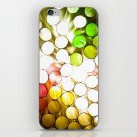 Honeycomb Illumination iPhone & iPod Skin