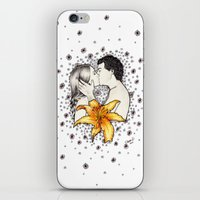 Love is like a Flower... iPhone & iPod Skin