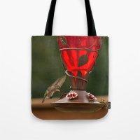 Hummingbird Legend Tote Bag
