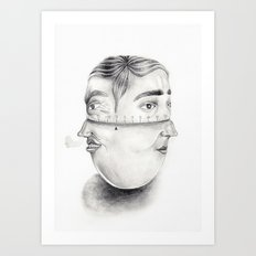 Temperament Timer  Art Print