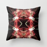 Spectacular Red And Gree… Throw Pillow