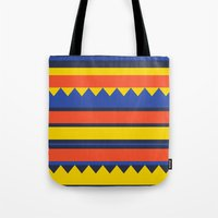 Triangles Jungle Tote Bag
