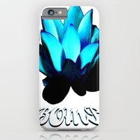 iPhone & iPod Case featuring Lotus Flower Bomb by ScriptShirts