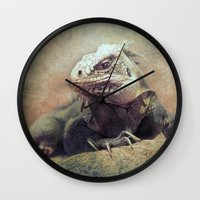 Big bad Lizard! Wall Clock