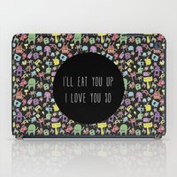 Little Monsters iPad Case