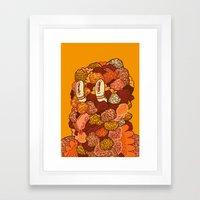Monotony Framed Art Print