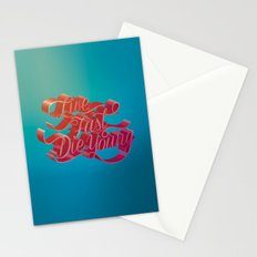Live Fast Die Young Stationery Cards