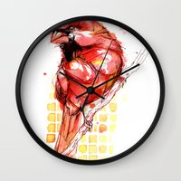 Cardinal Rule Wall Clock