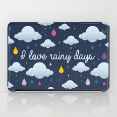 I love Rainy Days iPad Case