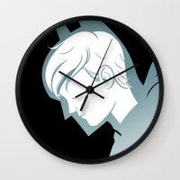 Something Terrible Wall Clock