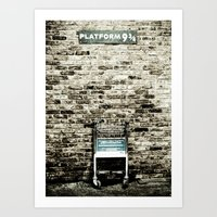 Platform Nine & 3/4 Art Print