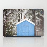Blue Snow House  iPad Case