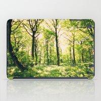 Bluebell Wood  iPad Case