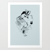 Paperwork Art Print