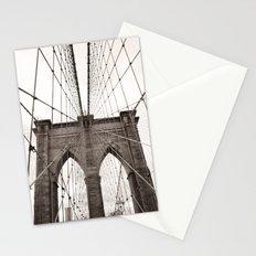 Gothic Brooklyn Bridge Stationery Cards