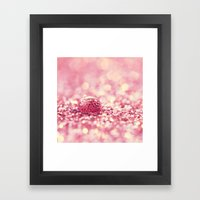 Drip drop Framed Art Print