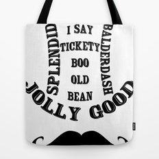 Moustache Ol' Chap! - Vintage Tote Bag