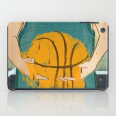 Losing my love for basketball iPad Case