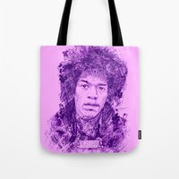 27 Club - Hendrix Tote Bag
